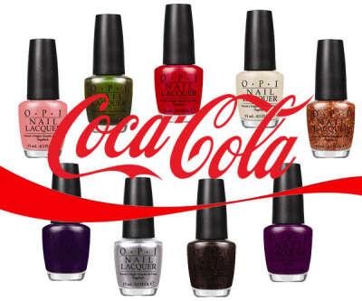 OPI Coca Cola collection