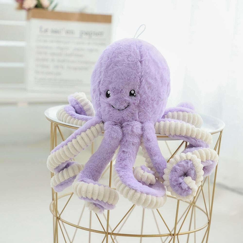большая фиолетовая осьминожка