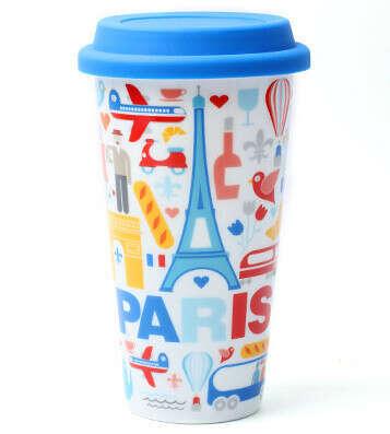 Чашка I Am Not A Paper Cup 'City' (разные дизайны) / Paris