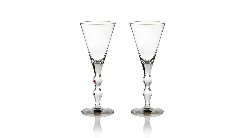 Набор из 2 бокалов для белого вина 140 мл «Офелия» подарочная коробка
