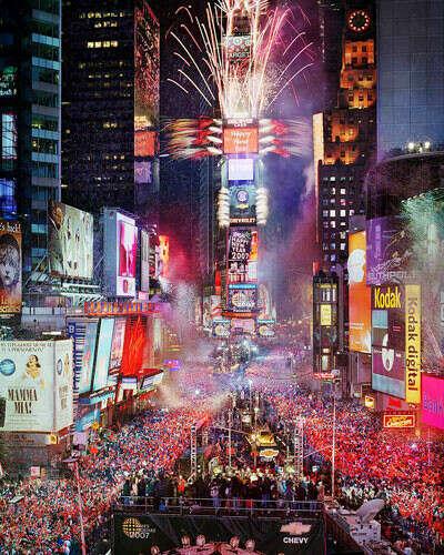 Отметить Новый Год в Нью-Йорке
