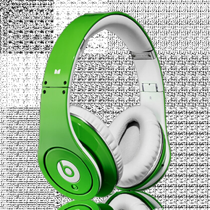 Monster Beats Studio Green – динамичные наушники для настоящих меломанов!