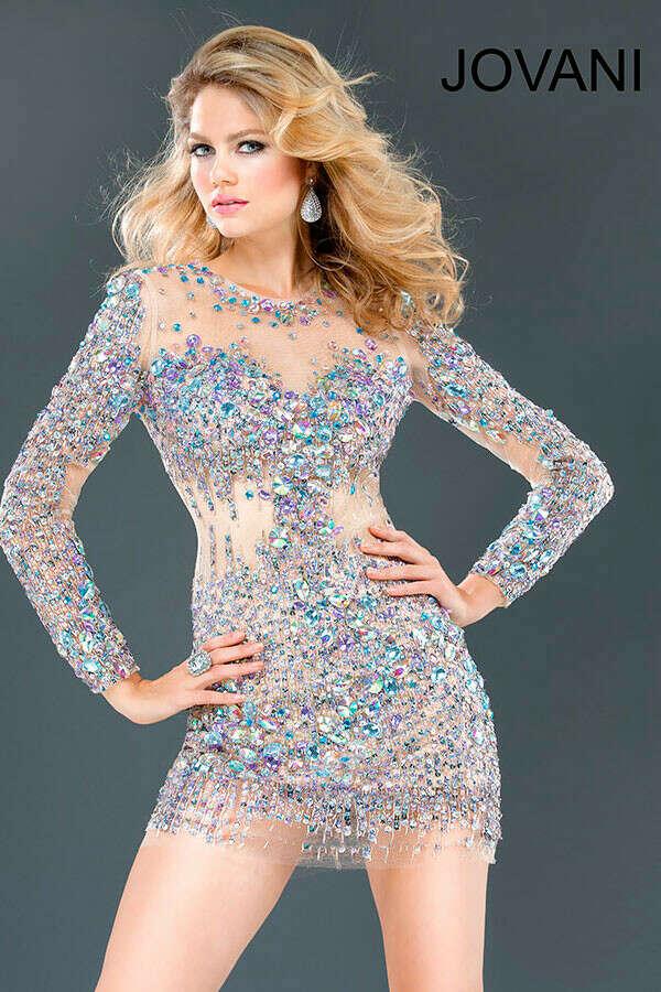 платье jovani 73054