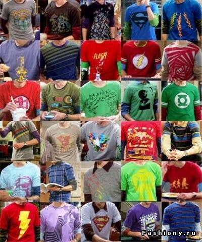футболки Шелдона