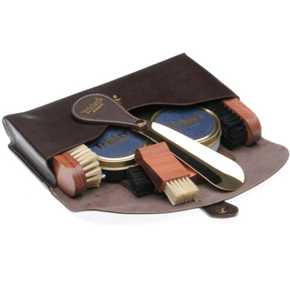 Trickers Travel Kit from Herring Shoes