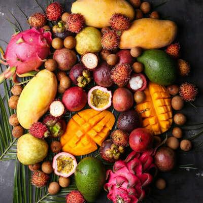 Экзотические фруктики