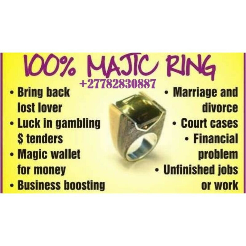 Magic Ring For Miracle Wonders Powers & Protection In Bulwer Call +27782830887 Magic Ring In Pietermaritzburg