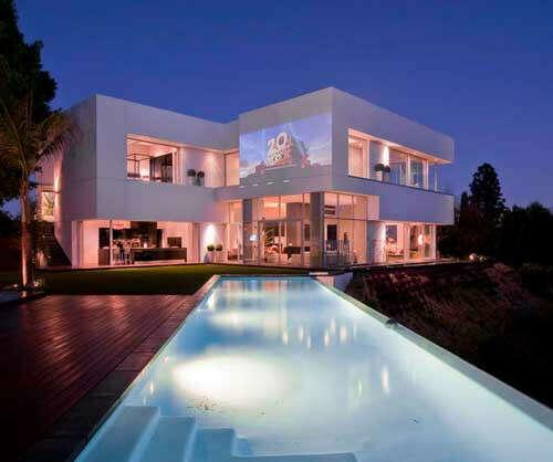 Красивый дома в Лос-анджелесе