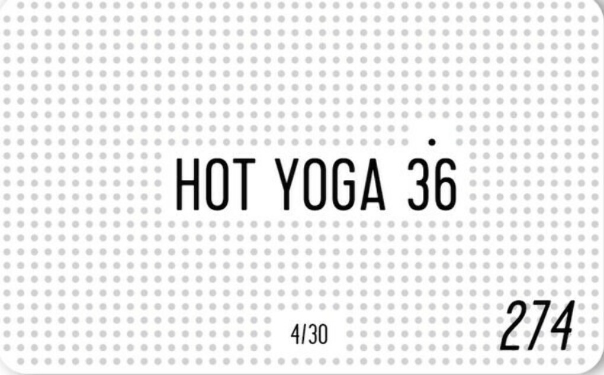 Абонемент в Hot Yoga 36