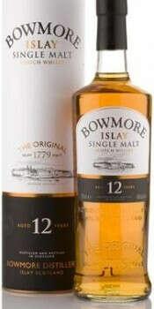 Виски Bowmore 12 Years Old, gift box, 0.75 л