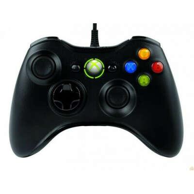 Геймпад Microsoft Xbox 360 Wired Controller черный