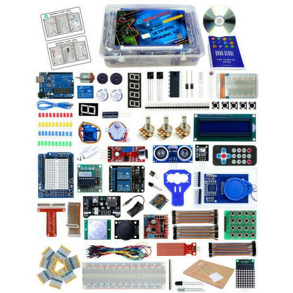 Quad Store(TM) - Ultimate Kit for Arduino Uno R3 (Professional Kit) - Quad Store