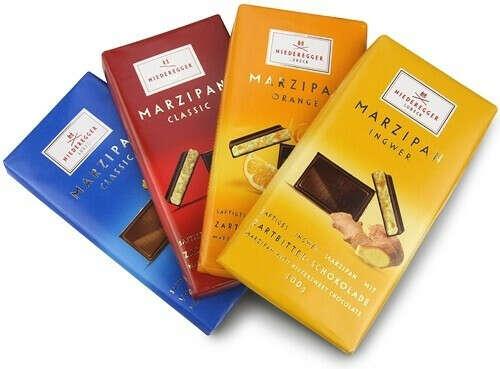 Марципановые шоколадки