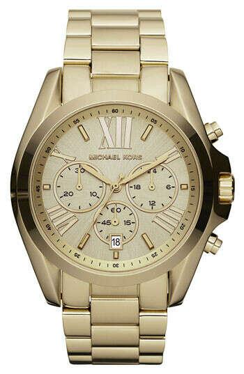 Michael Kors 'Bradshaw' Chronograph Bracelet Watch, 43mm | Nordstrom