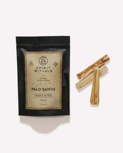 Благовония Пало Санто SPIRIT RITUALS. Набор, 3 палочки. Palo Santo PERU 30-35 грамм