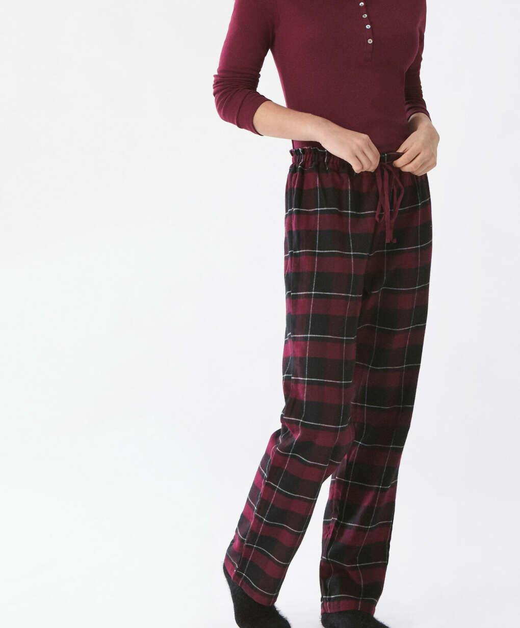 Пижама теплая Oysho (брюки+кофта)