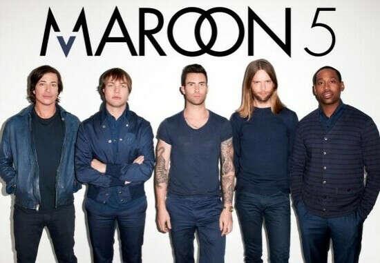 Концерт Maroon 5