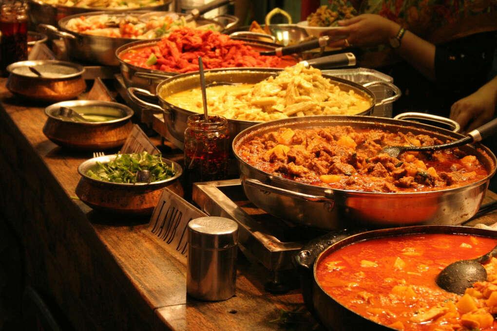 Попробовать индийскую кухню