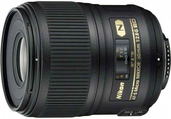 Объектив NIKON AF-S 60 mm f/2.8G ED Micro