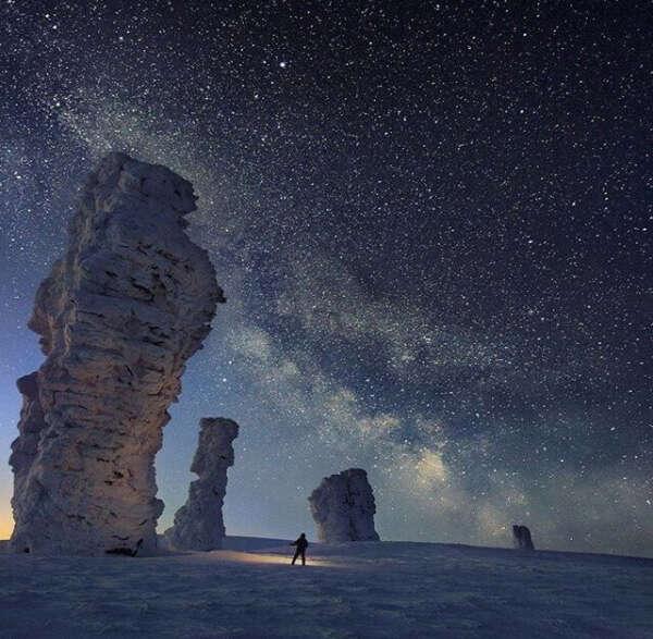 Посетить парк Ночного неба