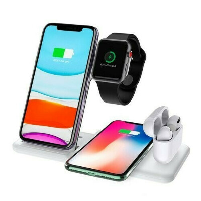 Док-станция 4-в-1 Wireless Charger Dual (White)