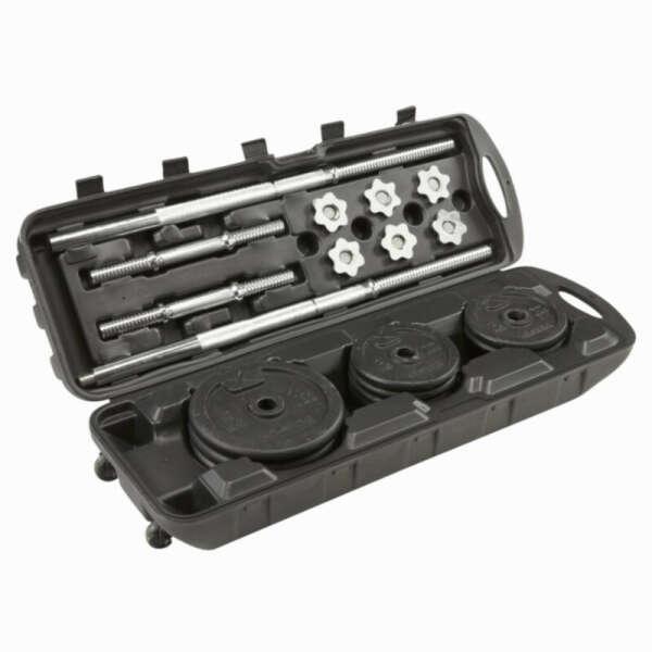 Силовые тренажеры - Набор гантелей 50 кг