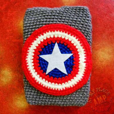 Чехол для iPad mini - Капитан Америка