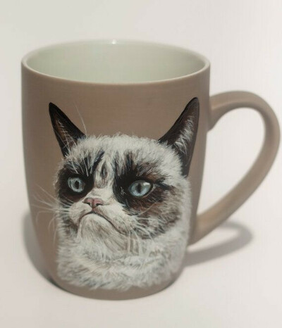 Кружка Grumpy cat