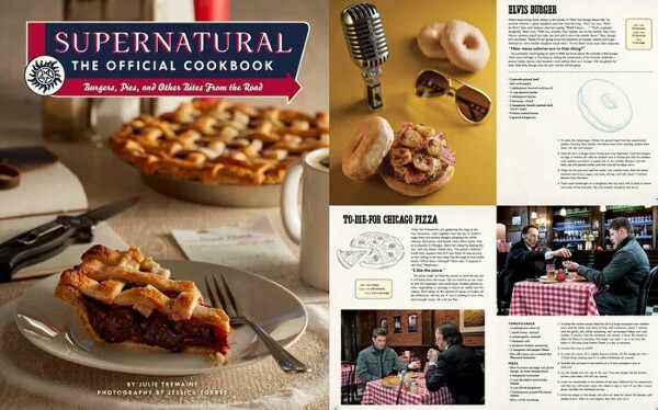 Supernatural: The Official Cookbook: Burgers, Pies, and Other Bites from the Road Hardcover