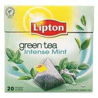 Мятный чай Lipton Groene thee intense mint