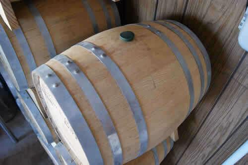 5 Gallon Used Blue Corn Whiskey Barrel