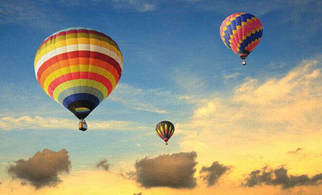Прокатиться на воздушном шаре