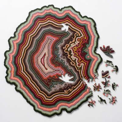 Orbicular Geode Puzzle
