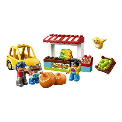 Конструктор LEGO Фермерский рынок DUPLO Town (10867)