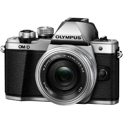 Цифровой фотоаппарат Olympus OM-D E-M10 II 14-42mm Pancake Zoom Kit Silver