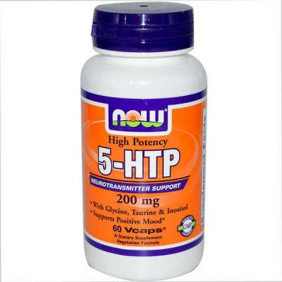 5-HTP, 200 мг, 60 растительных капсул
