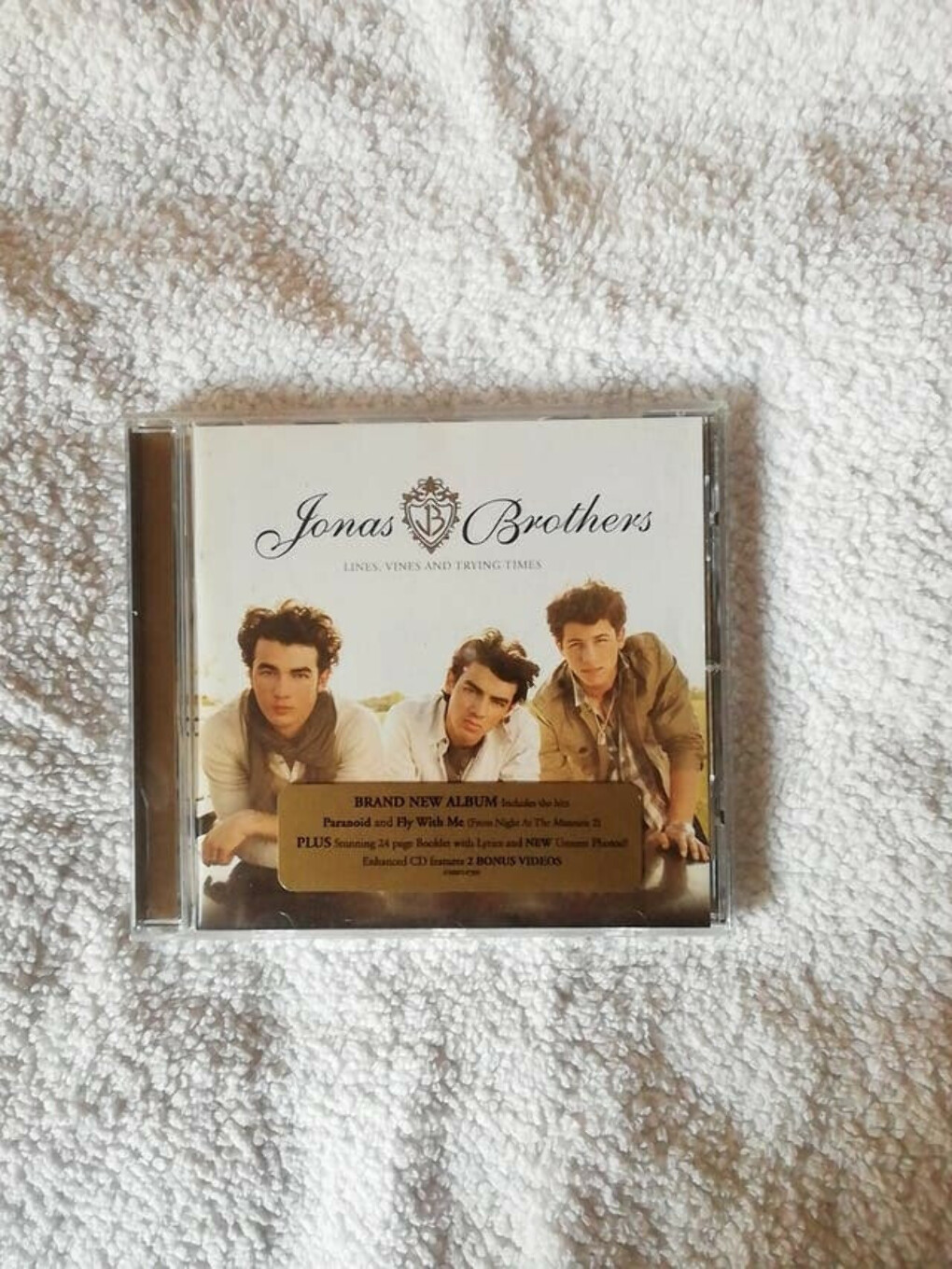 Jonas Brothers - Lines Vines & Trying Times CD