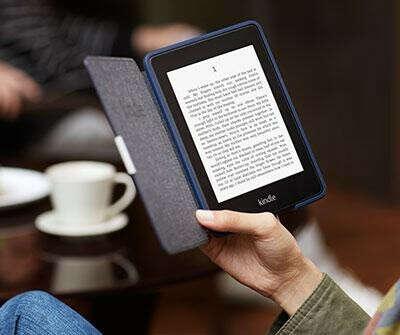 Amazon Kindle Paperwhite + Cover