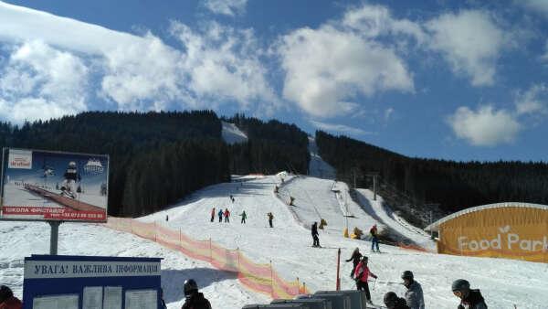 Покататься на лыжах в Буковеле