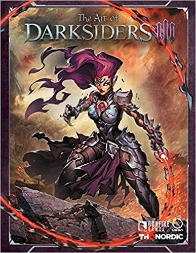 The Art of Darksiders III Hardcover – July 2, 2019