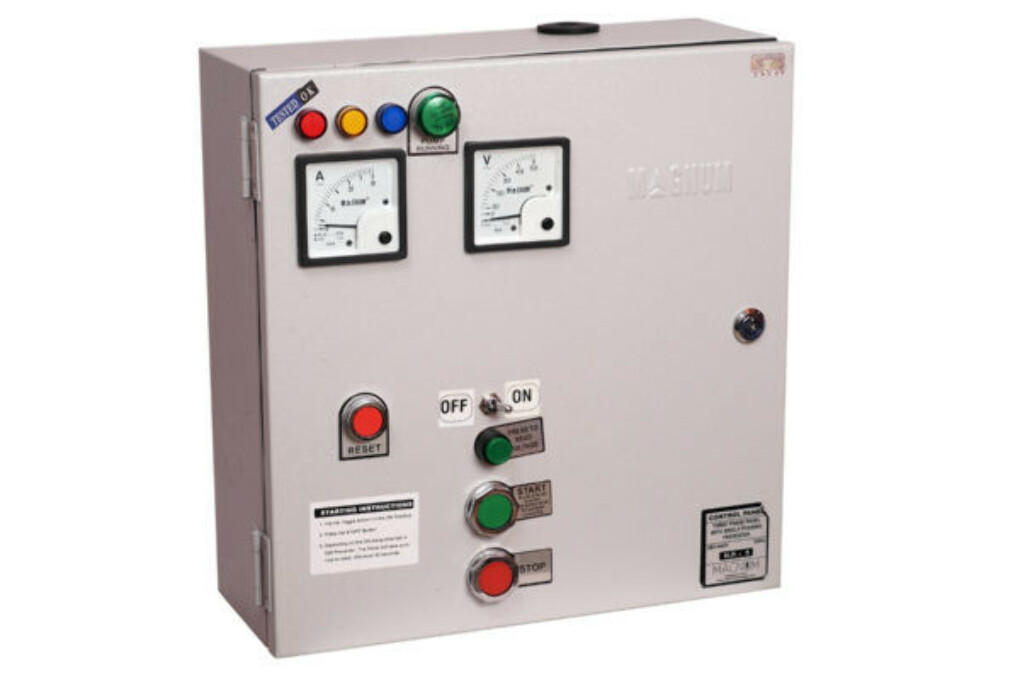 Submersible Pump Panel – Deluxe – Three Phase
