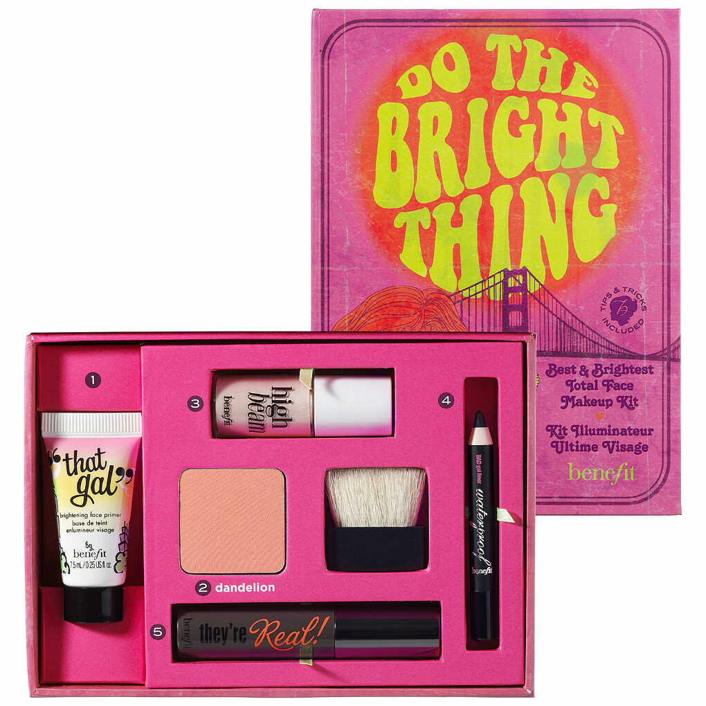 Benefit Cosmetics : Do The Bright Thing : makeup-value-sets