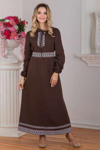 Платье льняное Новгородское