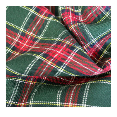 Ткань Шотландка 1019 350 г/кв.м 150 см 65% полиэстер 35% вискоза