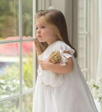 ... дочку-ангела!