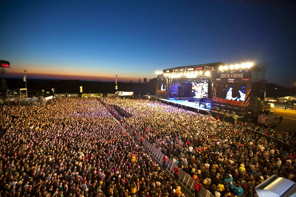 Go to a music festival