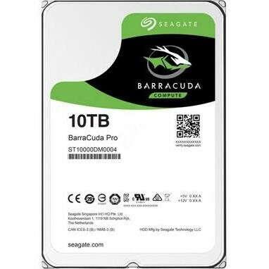 Жесткий диск Seagate BarraCuda Pro HDD 10TB 7200rpm 256MB ST10000DM0004 3.5 SATA III