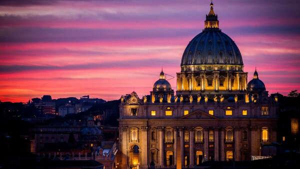 Подняться на купол собора Святого Петра