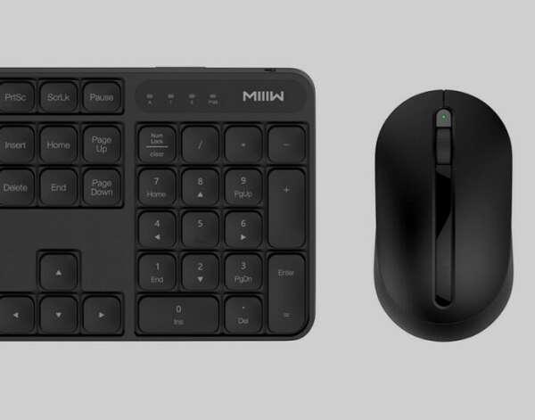Беспроводная клавиатура и мышь Xiaomi