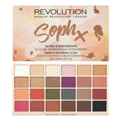 "Палетка теней для век ""Makeup Revolution Soph Eyeshadow"""